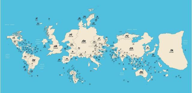 带地理含义的顶级域名推荐