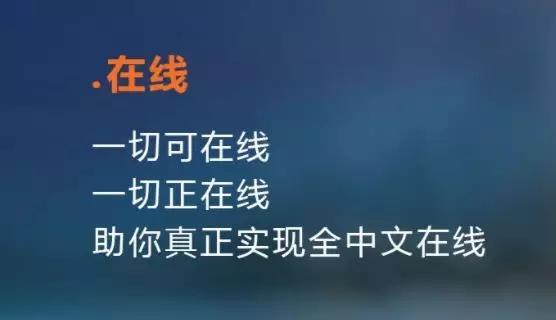 """中文域名"""".在线"""""""