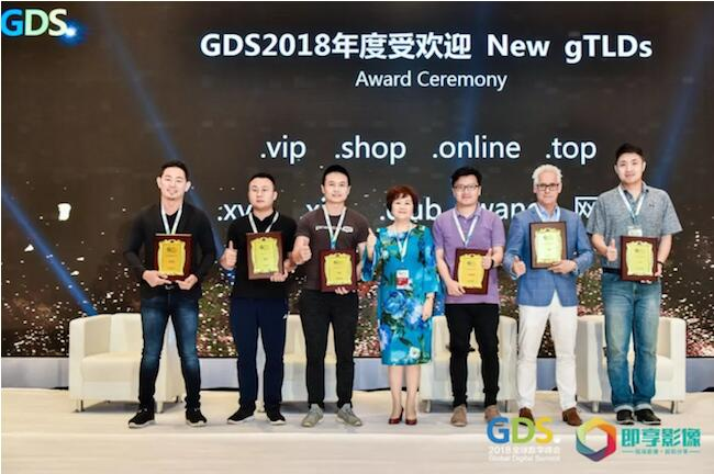 .vip域名荣膺GDS年度受欢迎新顶级域名称号