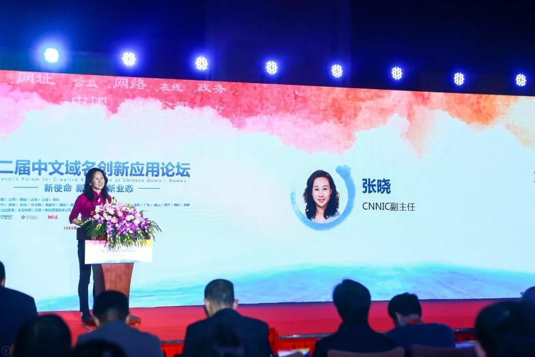 """二届""""中文域名创新应用论坛""""cnnic副主任发言"""
