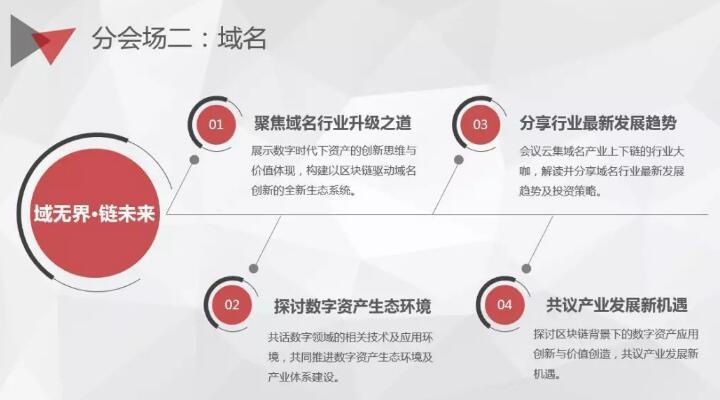 """GDS2018全球数字峰会""""域名分会场"""""""