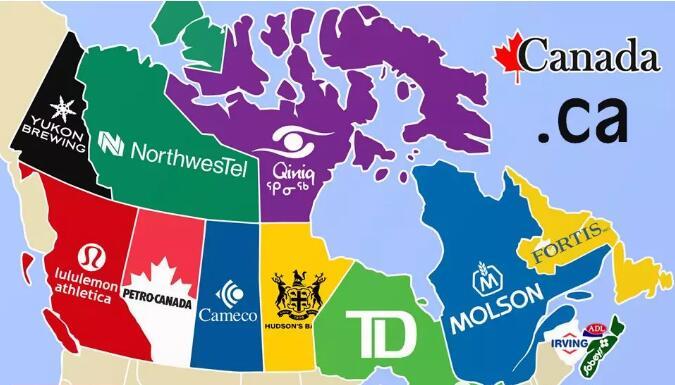 加拿大国别域名.ca域名科普