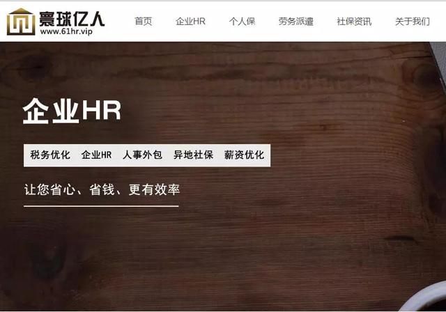 HR网站启用.VIP域名