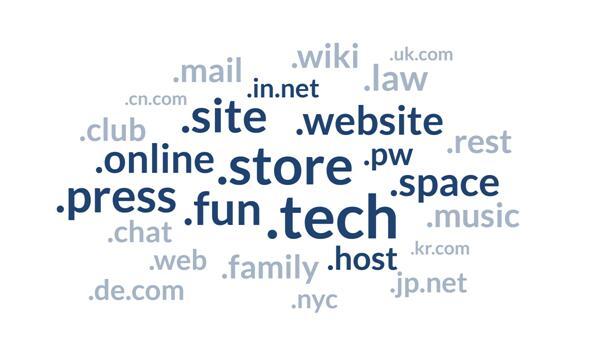 这些域名后缀可以传达您的业务内容