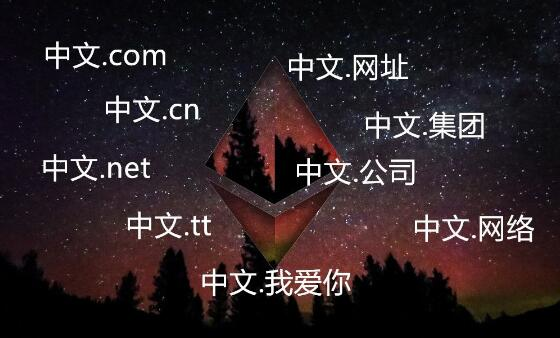 中文域名后缀